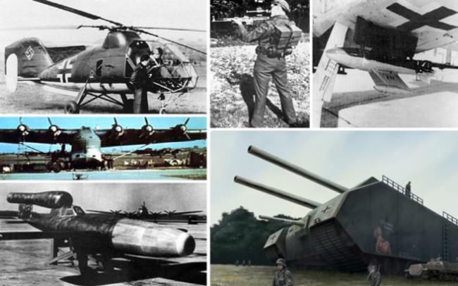 Самое удивительное оружие Второй мировой