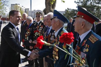 Украинские власти опротестовали визит Медведева в Крым