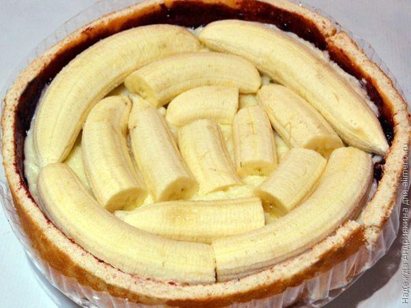 Рецепт тортов с бананами в домашних условиях с пошагово простые
