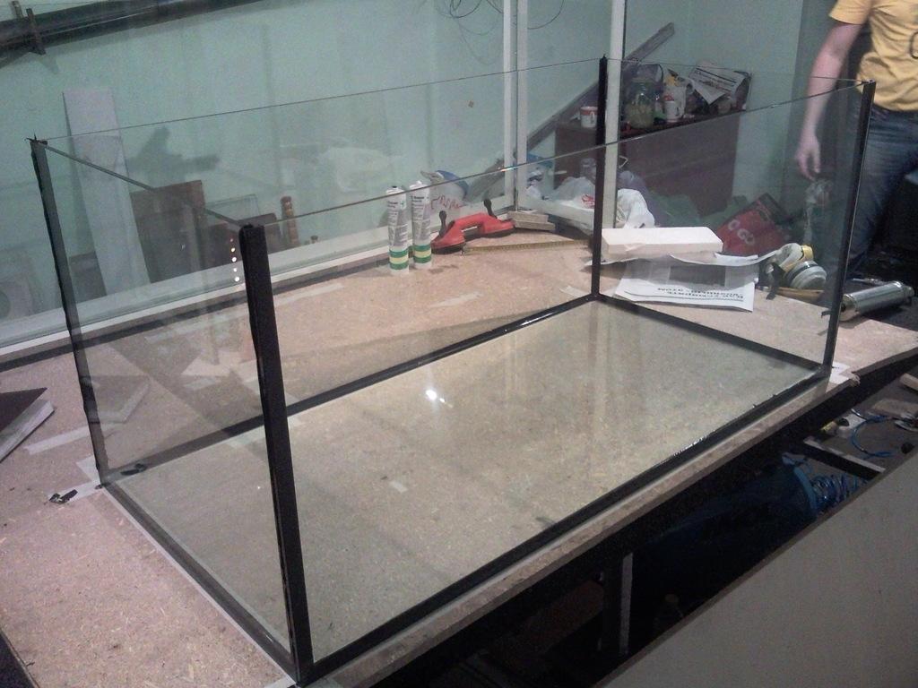 Постройка моего аквариума аквариумистика, рыбы