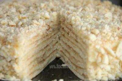 Подборка рецептов тортов на сковороде