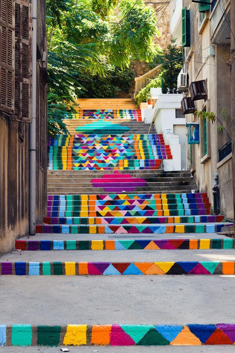 17 интересных лестниц со всего мира!