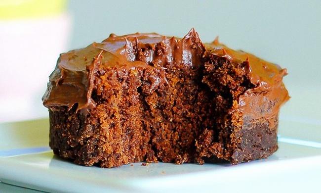 Вкуснющий шоколадный кекс вмикроволновке за5минут