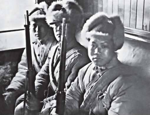 Китай и Гражданская война в России
