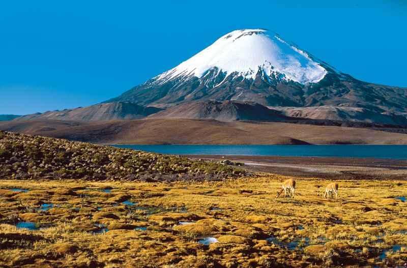Чудеса природы: Вулкан Охос-дель-Саладо