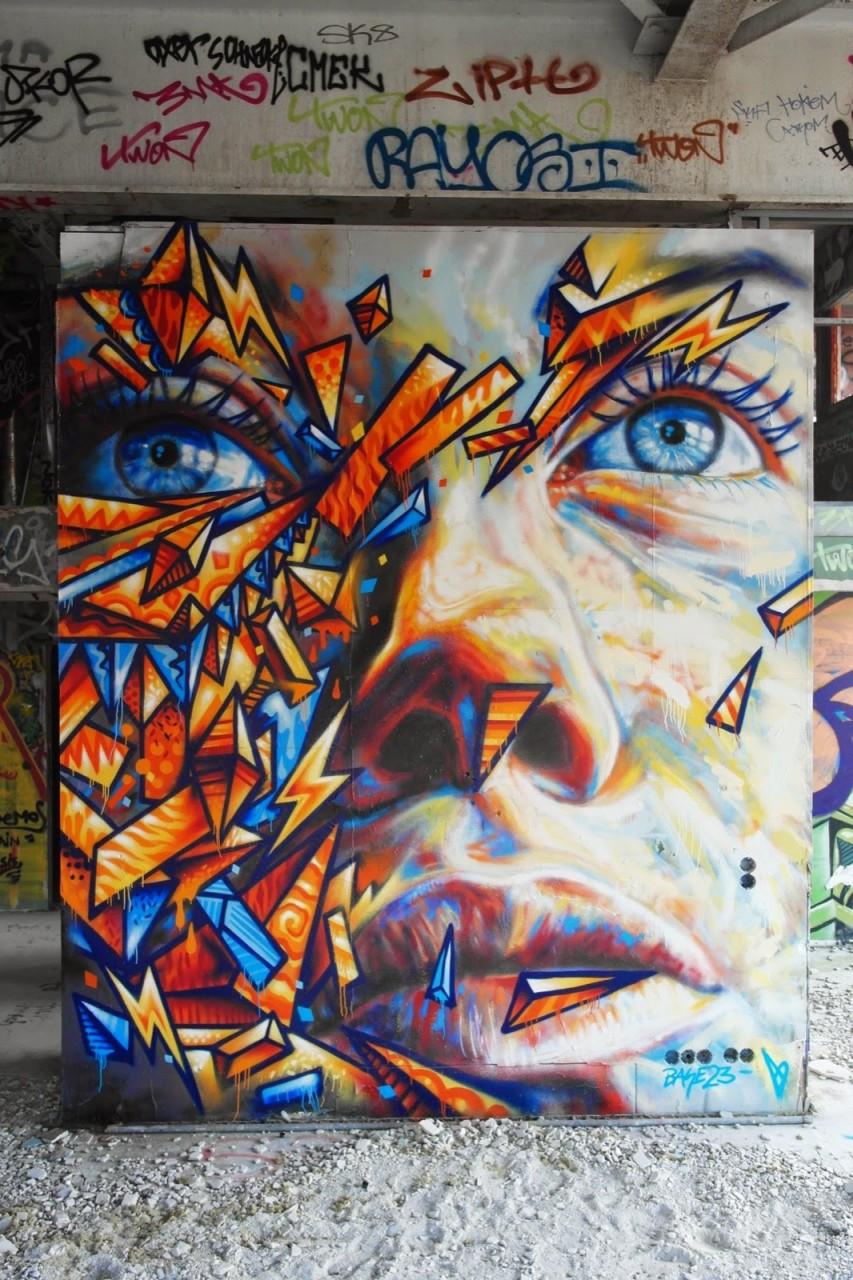 17. Берлин, Германия граффити, стрит-арт, художники