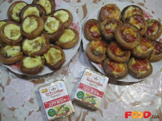Мини-пиццы из бубликов