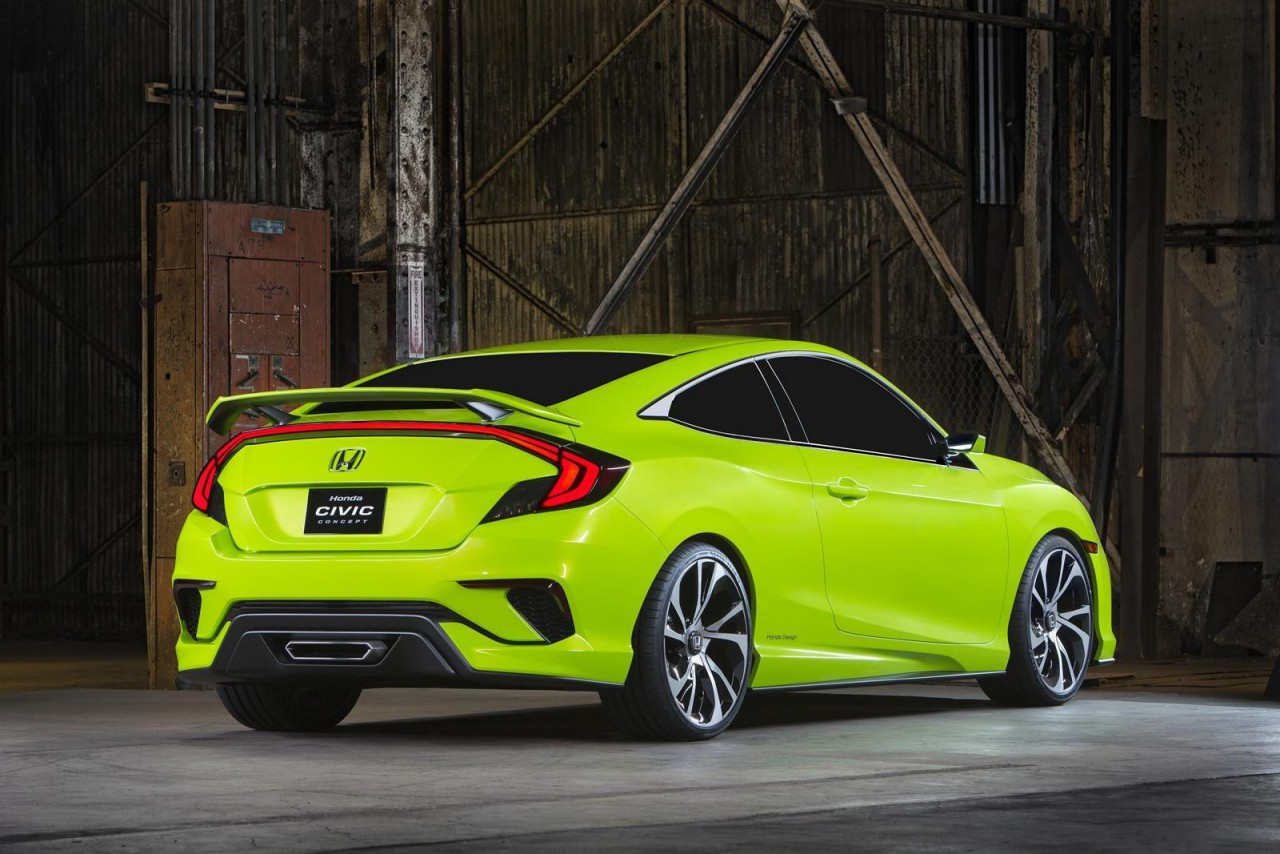 Honda неожиданно привезла в Нью-Йорк концепт нового Civic авто, факты