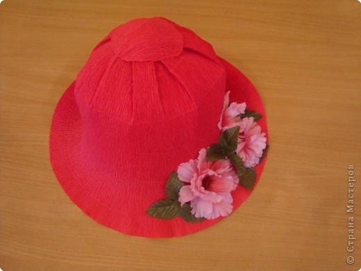 Мастер-класс Моделирование: Шляпы Бумага. Фото 15