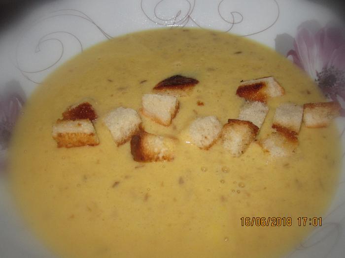 Суп-пюре из перловой крупы