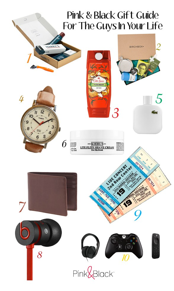 P&B's Gift Guide For TheGuys
