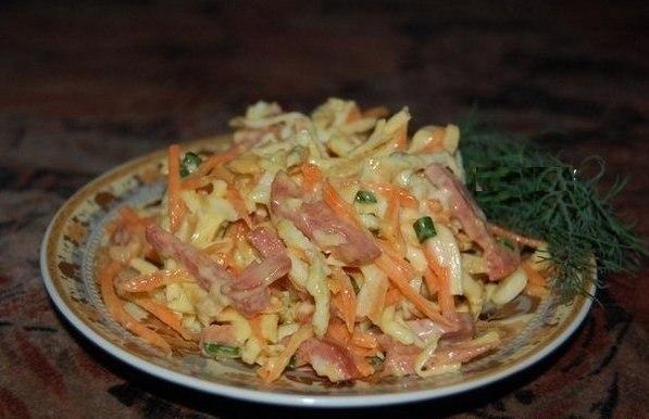 Салат с интересным вкусом и названием «Быстрее некуда»
