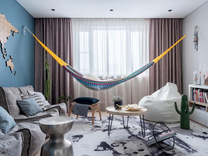 Квартира: 40 м² для холостяка