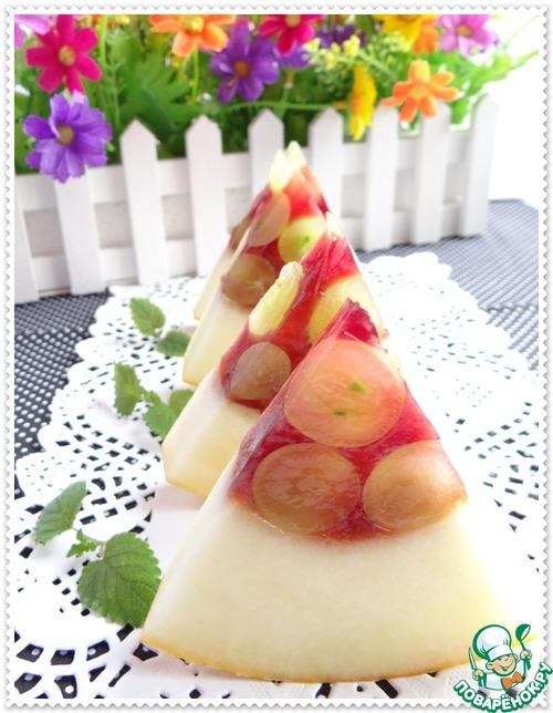"""Десерт """"Сочные дольки"""" - Обалдеть! Как просто, вкусно и красиво!"""