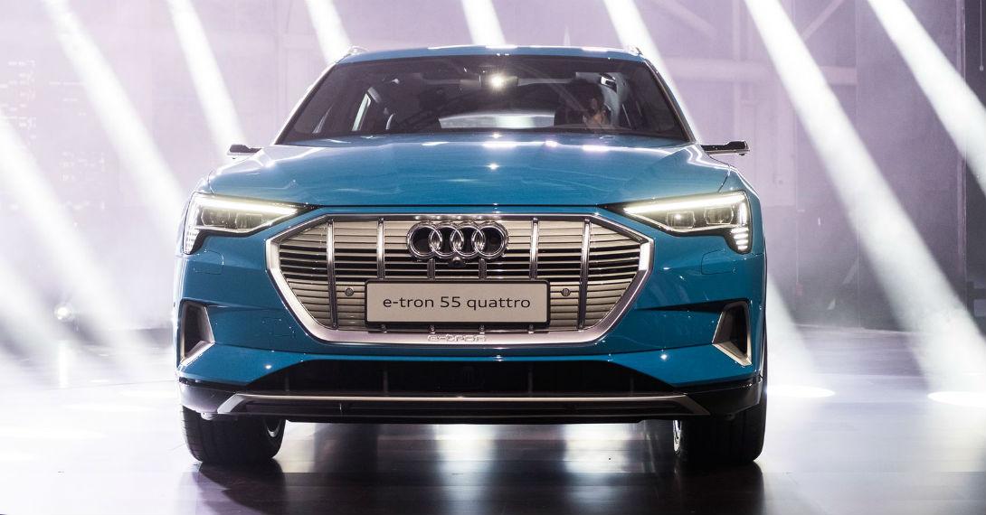 Audi E-tron: первый серийный электрокроссовер немцев