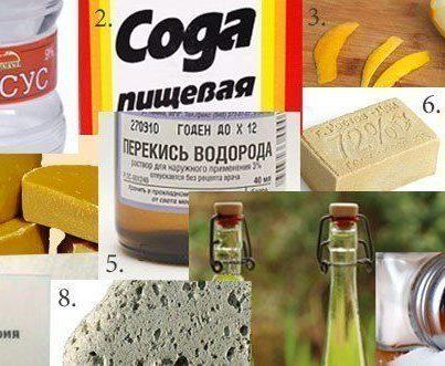 10 натуральных средств, которые могут заменить дорогую бытовую химию