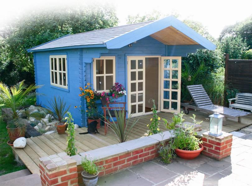 Садовые домики  фото