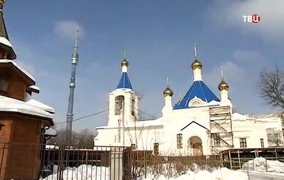 Ресин проинспектировал строительство храма в Останкине