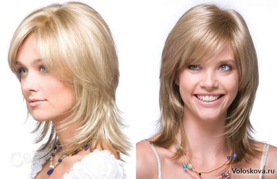 модные прически 2015 женские на средние волосы фото после 40