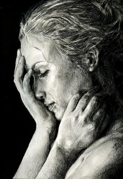 рисунки карандашом Maria Zeldis -2-09
