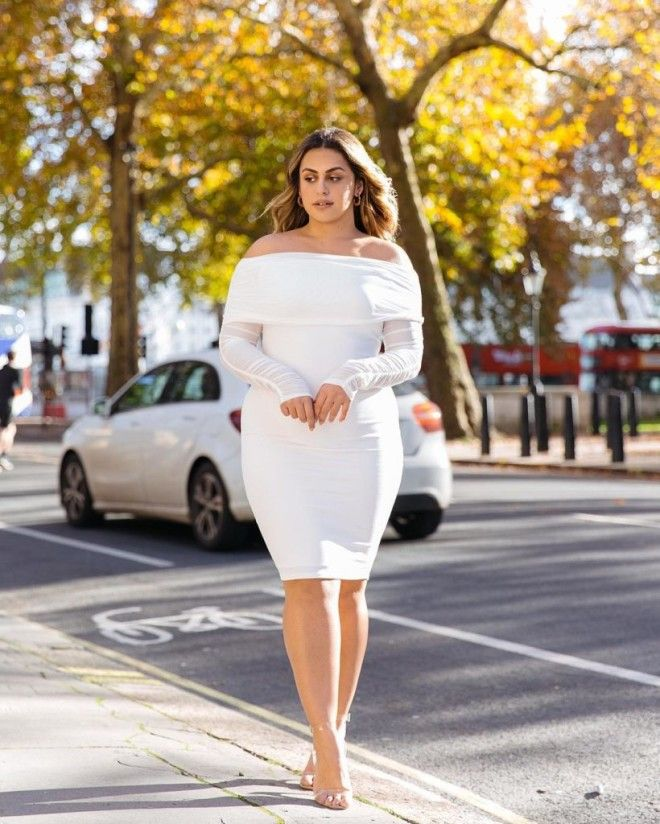 Блогер из Лондона показала как должна одеваться девушка размера XL