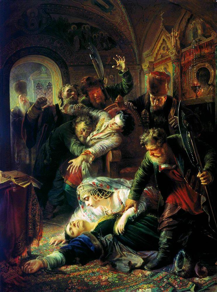 Жестокая казнь Годуновых: са…