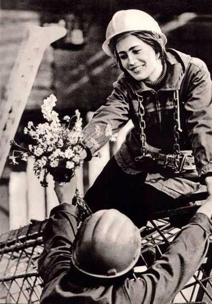 Девушки СССР Фотографии, на которых видна неподдельная красота