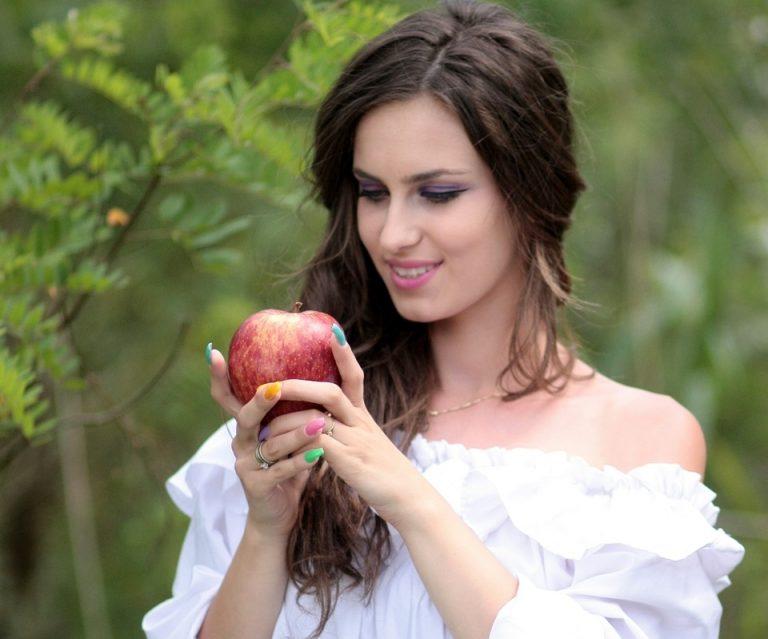 Домашняя маска из яблока для…
