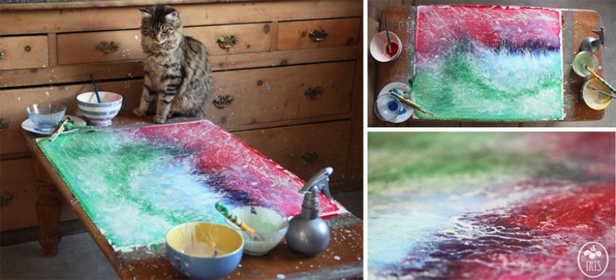 Шедевральные работы 5-летней художницы страдающей аутизмом  аутизм, девочка, искусство, ребенок