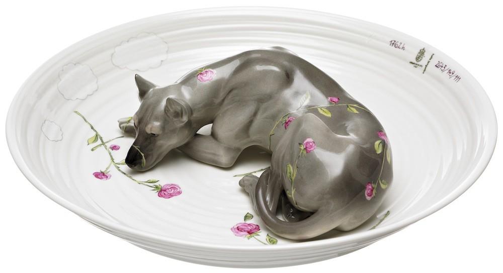 Серия фарфора от Хеллы Йонгериус керамика, скульптура, фарфор