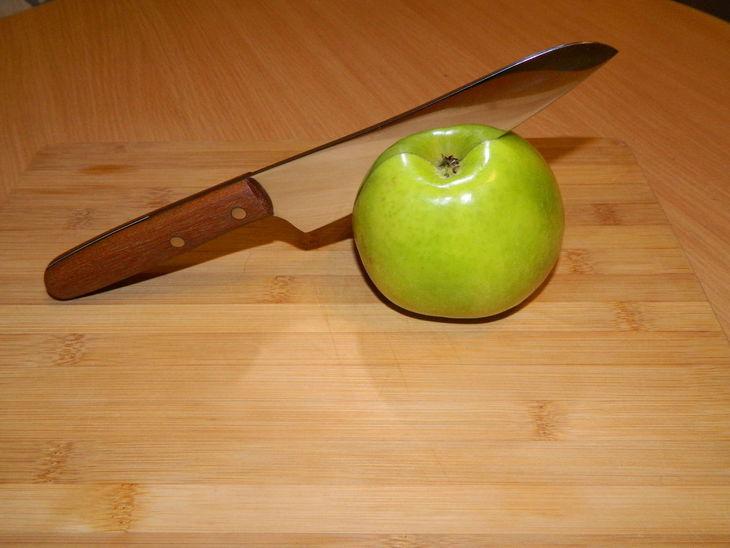 Как избавиться от ржавчины на ноже