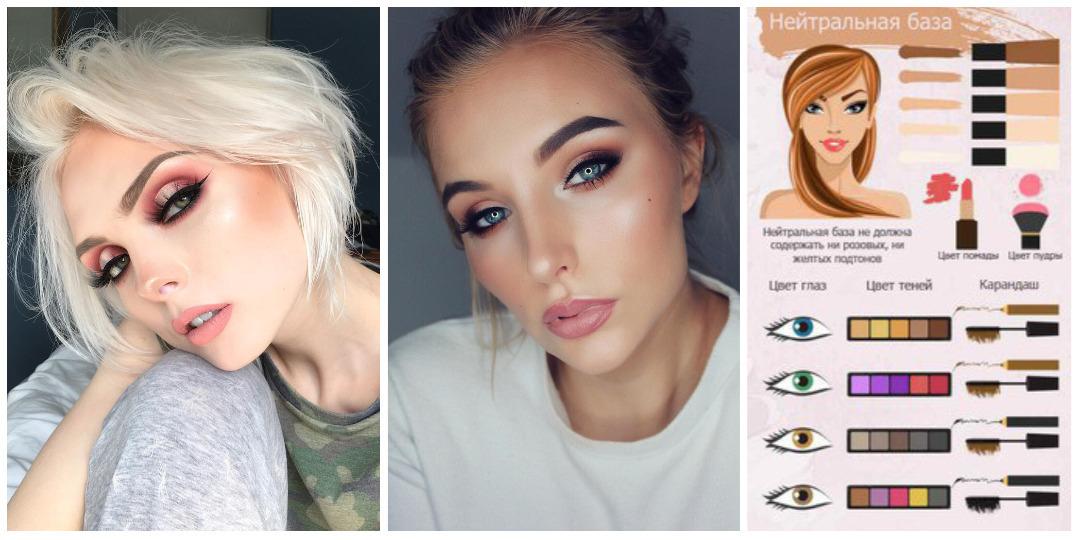 Руководство по макияжу: подбираем цвет по тону кожи