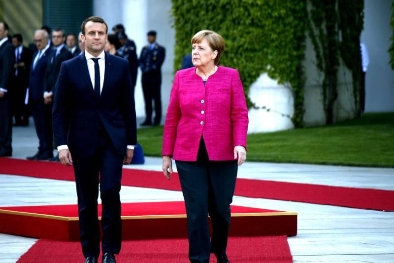 Берлин собрался вывести Европу из под гнёта США