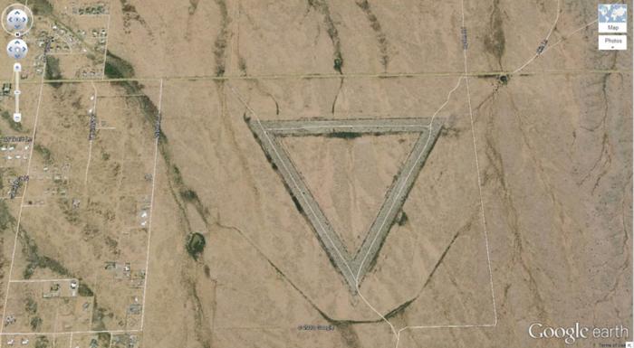Виттманн, Аризона, США google, снимки, спутник