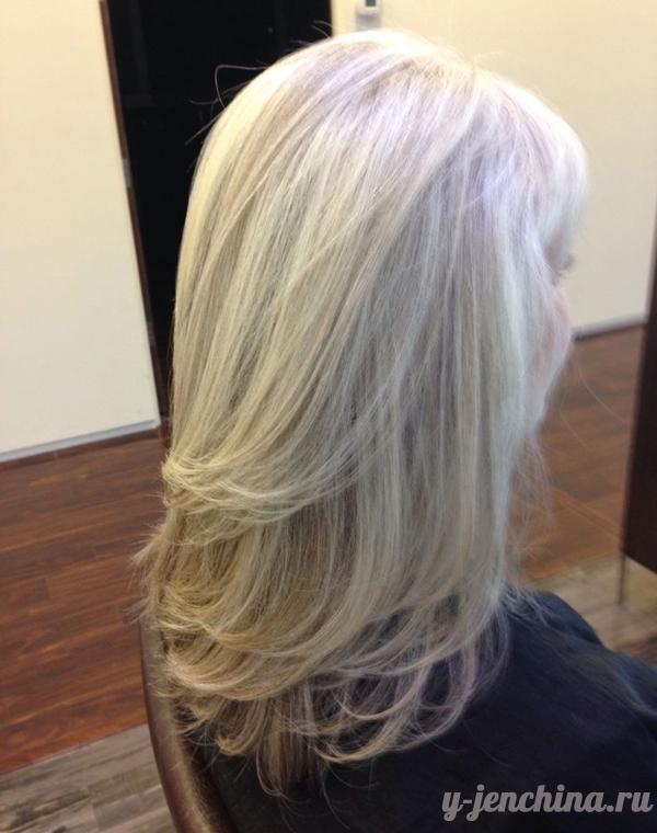 каскад стрижки на средние волосы