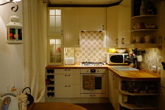 Любимая кухня-гостиная