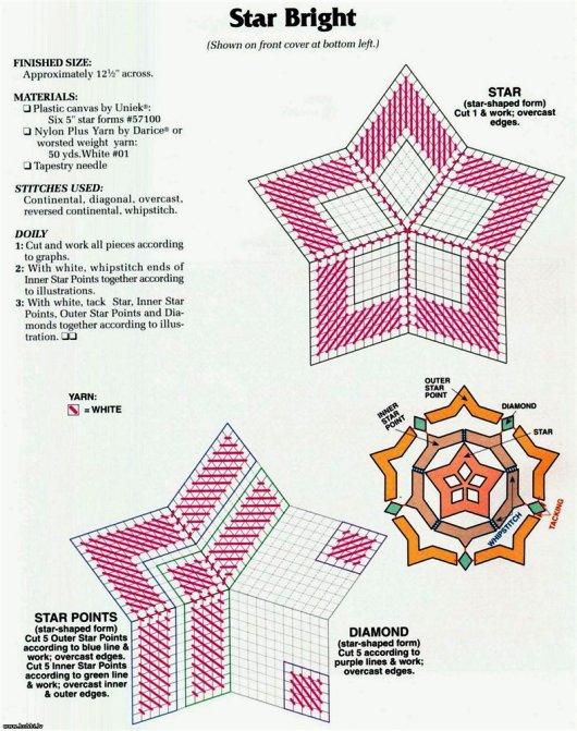 Схемы для вышивки на пластиковой канве 19