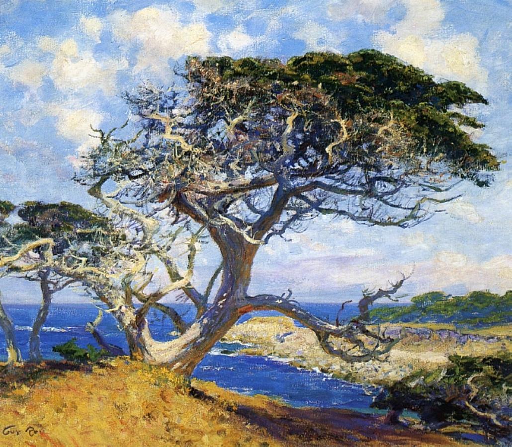 «Я люблю смотреть на море…» Американский художник Guy Orlando Rose (1867 — 1925)