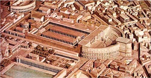 Театр Помпея в Риме