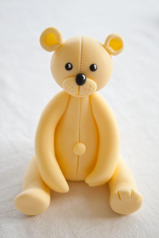 Teddy из мастики