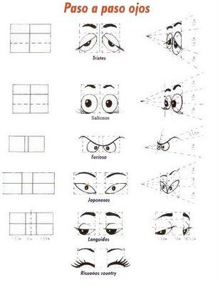 Учимся рисовать глазки