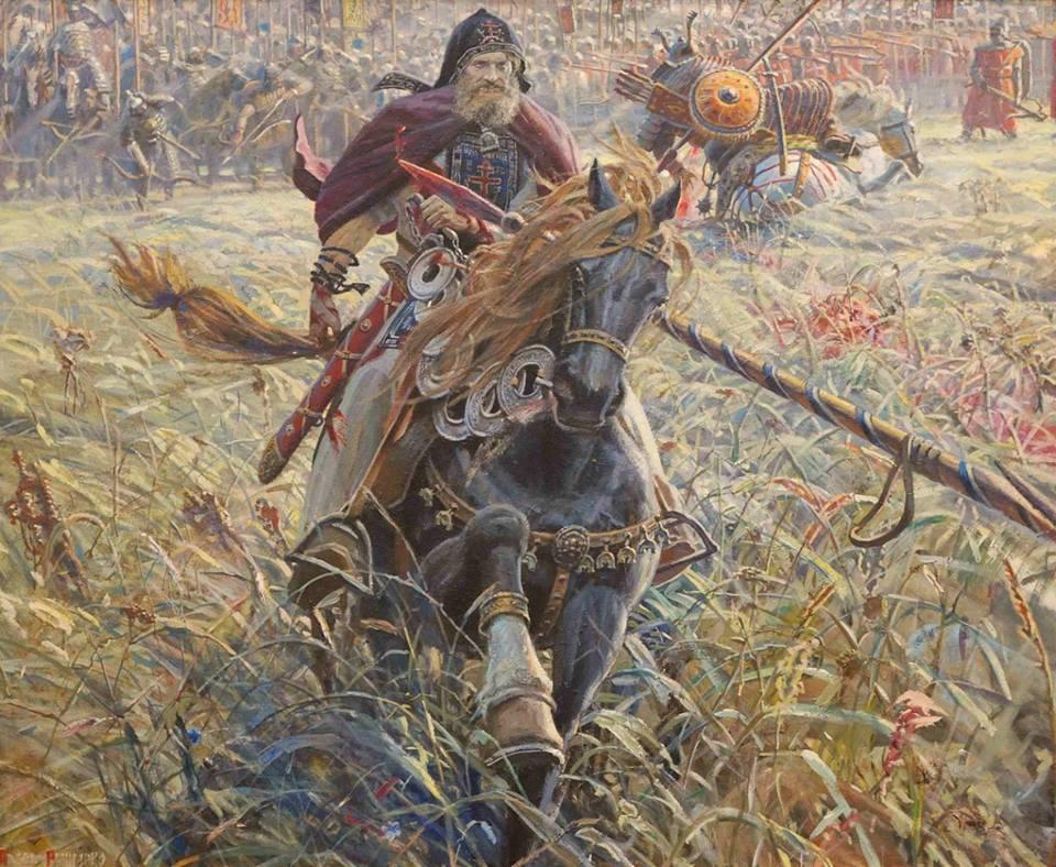 Кого убил инок Пересвет?