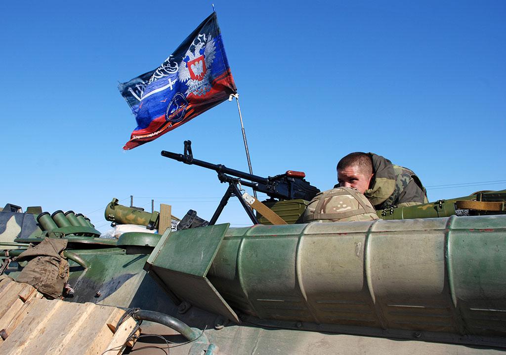 Степан Полторак насчитал у ополченцев свыше 550 танков