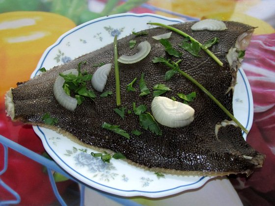 Камбала запечённая в духовке фото рецепт приготовления