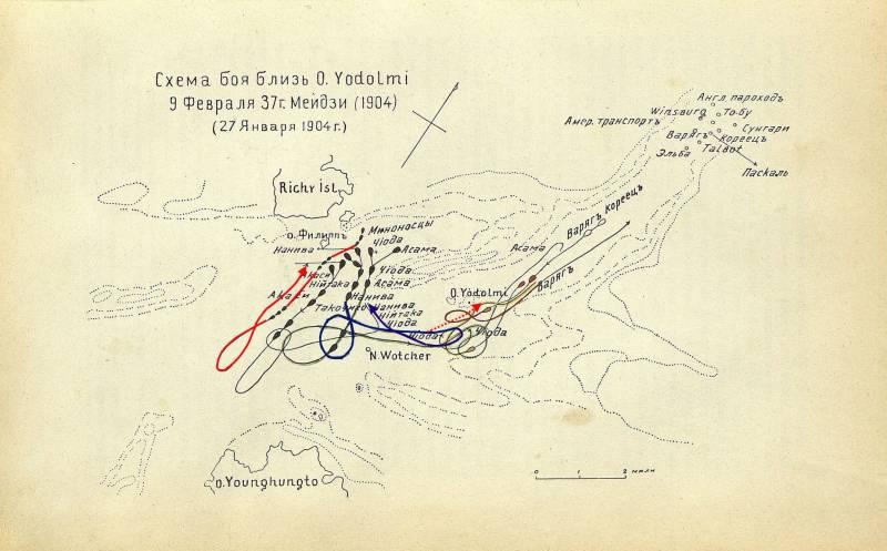"""Крейсер """"Варяг"""". Бой у Чемульпо 27 января 1904 года. Ч. 19. После боя"""