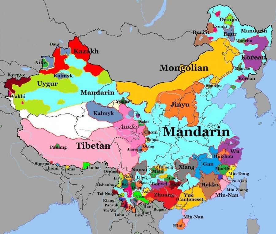 Языки Китая