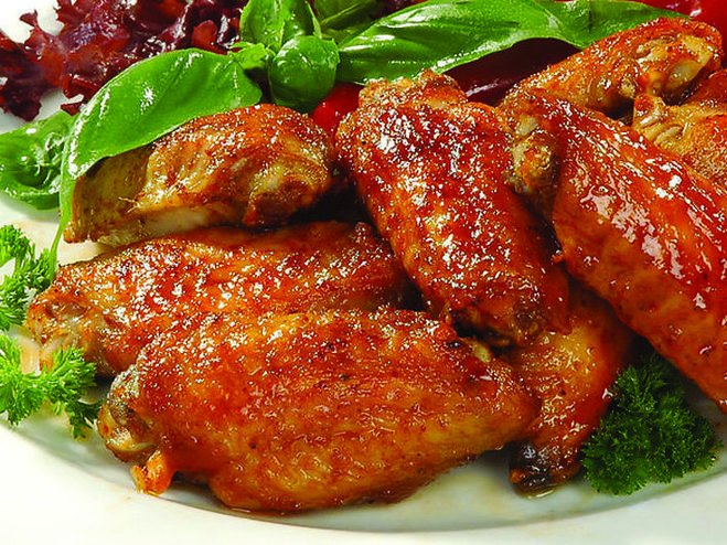 рецепты куриных крылышек в духовке видео рецепт