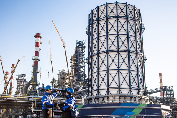 МНПЗ будет утилизировать газ…