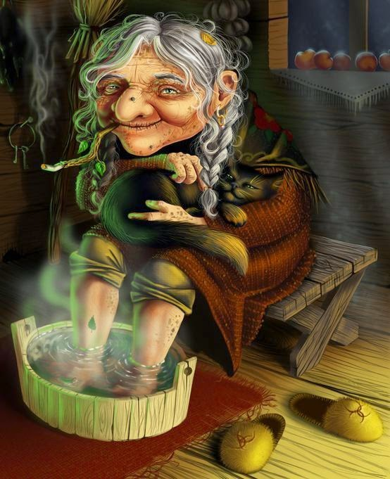 Баба Яга выходит замуж (сказка для взрослых)