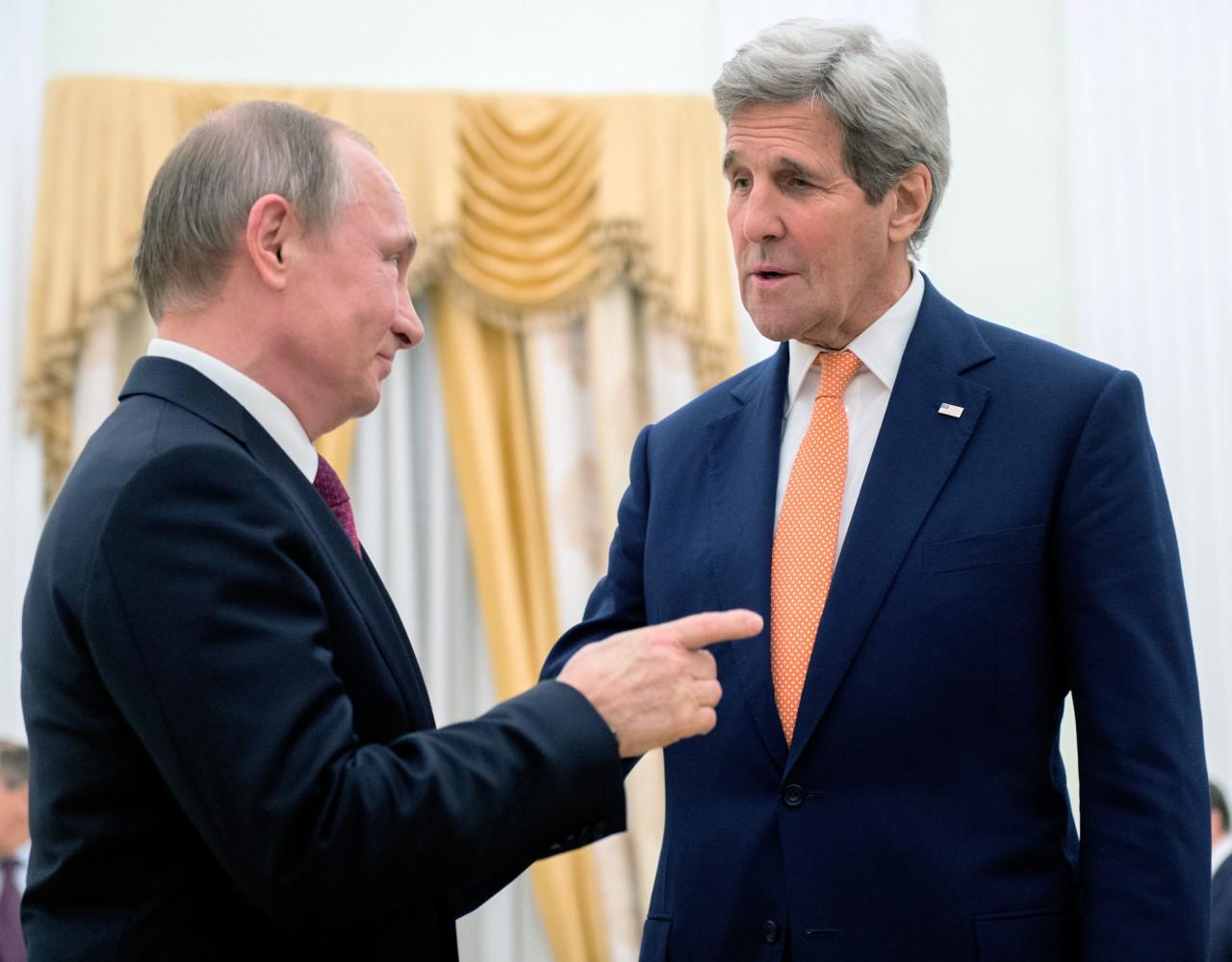 Встреча Путина и Керри в кремле: Итоги